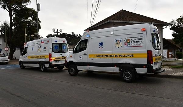 LLEGAN A LA COMUNA NUEVAS AMBULANCIAS PARA ENFRENTAR LA EMERGENCIA DEL CORONA-VIRUS